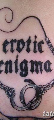 фото тату наручники от 25.06.2018 №093 — tattoo handcuffs — tatufoto.com