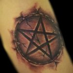 фото тату пентакль от 20.06.2018 №021 - tattoo pentacle - tatufoto.com