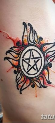 фото тату пентакль от 20.06.2018 №026 – tattoo pentacle – tatufoto.com