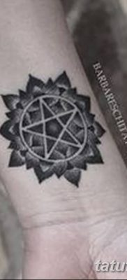 фото тату пентакль от 20.06.2018 №042 – tattoo pentacle – tatufoto.com