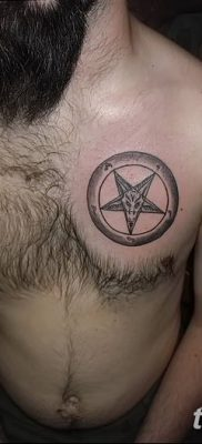 фото тату пентакль от 20.06.2018 №114 – tattoo pentacle – tatufoto.com