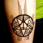 фото тату пентакль от 20.06.2018 №134 - tattoo pentacle - tatufoto.com