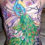 фото тату перо павлина от 26.06.2018 №028 - tattoo peacock feather - tatufoto.com