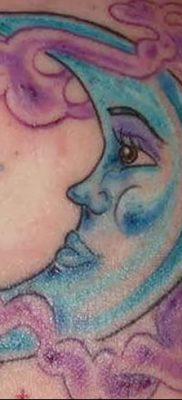 фото тату полумесяц со звездой от 26.06.2018 №003 – tattoo crescent with a – tatufoto.com