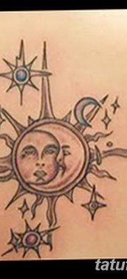 фото тату полумесяц со звездой от 26.06.2018 №069 – tattoo crescent with a – tatufoto.com
