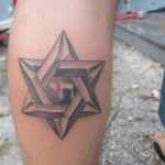 фото тату шестиконечная звезда от 23.06.2018 №024 - tattoo six-pointed star - tatufoto.com
