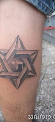 фото тату шестиконечная звезда от 23.06.2018 №024 – tattoo six-pointed star – tatufoto.com
