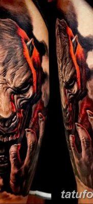 Фото тату Сатана от 31.07.2018 №001 – tattoo of Satan – tatufoto.com