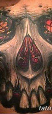 Фото тату Сатана от 31.07.2018 №002 – tattoo of Satan – tatufoto.com