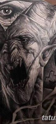 Фото тату Сатана от 31.07.2018 №003 – tattoo of Satan – tatufoto.com