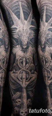 Фото тату Сатана от 31.07.2018 №005 – tattoo of Satan – tatufoto.com