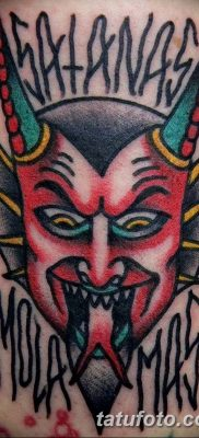 Фото тату Сатана от 31.07.2018 №009 – tattoo of Satan – tatufoto.com