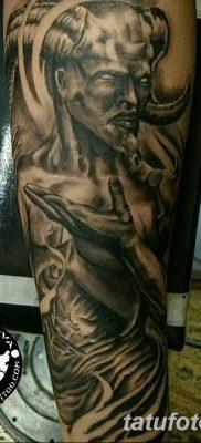 Фото тату Сатана от 31.07.2018 №010 – tattoo of Satan – tatufoto.com