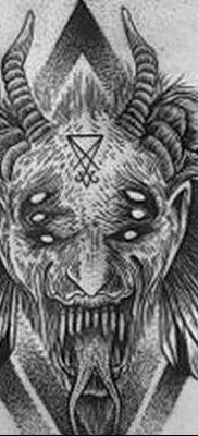 Фото тату Сатана от 31.07.2018 №011 – tattoo of Satan – tatufoto.com