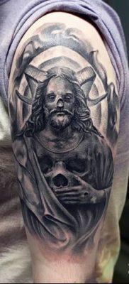 Фото тату Сатана от 31.07.2018 №012 – tattoo of Satan – tatufoto.com