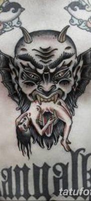 Фото тату Сатана от 31.07.2018 №013 – tattoo of Satan – tatufoto.com