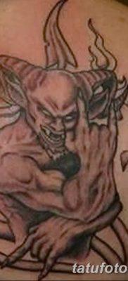 Фото тату Сатана от 31.07.2018 №015 – tattoo of Satan – tatufoto.com