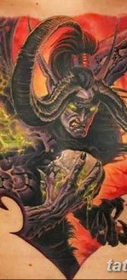 Фото тату Сатана от 31.07.2018 №018 – tattoo of Satan – tatufoto.com