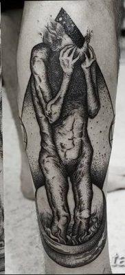 Фото тату Сатана от 31.07.2018 №025 – tattoo of Satan – tatufoto.com
