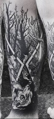 Фото тату Сатана от 31.07.2018 №027 – tattoo of Satan – tatufoto.com