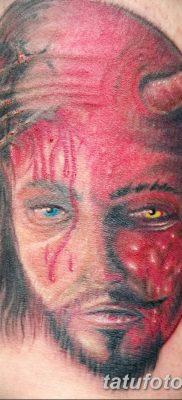Фото тату Сатана от 31.07.2018 №029 – tattoo of Satan – tatufoto.com