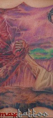 Фото тату Сатана от 31.07.2018 №030 – tattoo of Satan – tatufoto.com