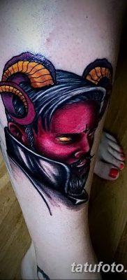 Фото тату Сатана от 31.07.2018 №031 – tattoo of Satan – tatufoto.com