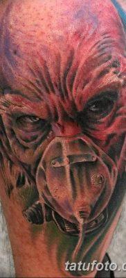Фото тату Сатана от 31.07.2018 №032 – tattoo of Satan – tatufoto.com
