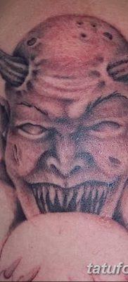 Фото тату Сатана от 31.07.2018 №033 – tattoo of Satan – tatufoto.com
