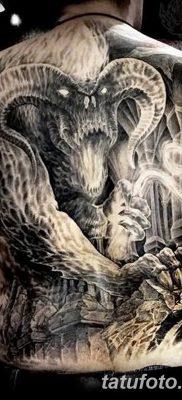 Фото тату Сатана от 31.07.2018 №039 – tattoo of Satan – tatufoto.com