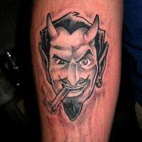 Значение тату «Сатана»