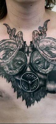 Фото тату Сатана от 31.07.2018 №088 – tattoo of Satan – tatufoto.com