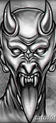 Фото тату Сатана от 31.07.2018 №095 – tattoo of Satan – tatufoto.com