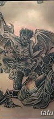 Фото тату Сатана от 31.07.2018 №096 – tattoo of Satan – tatufoto.com