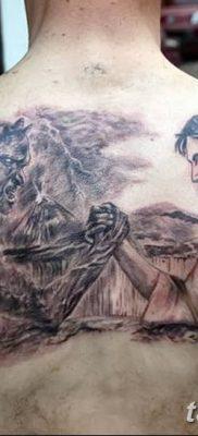 Фото тату Сатана от 31.07.2018 №098 – tattoo of Satan – tatufoto.com