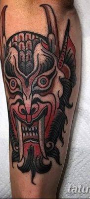 Фото тату Сатана от 31.07.2018 №105 – tattoo of Satan – tatufoto.com