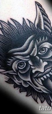 Фото тату Сатана от 31.07.2018 №108 – tattoo of Satan – tatufoto.com