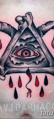 Фото тату Сатана от 31.07.2018 №109 – tattoo of Satan – tatufoto.com