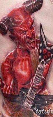 Фото тату Сатана от 31.07.2018 №110 – tattoo of Satan – tatufoto.com