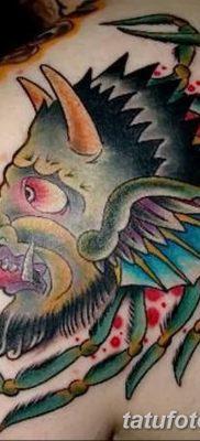 Фото тату Сатана от 31.07.2018 №112 – tattoo of Satan – tatufoto.com
