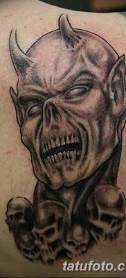 Фото тату Сатана от 31.07.2018 №116 – tattoo of Satan – tatufoto.com