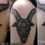 Фото тату Сатана от 31.07.2018 №117 - tattoo of Satan - tatufoto.com