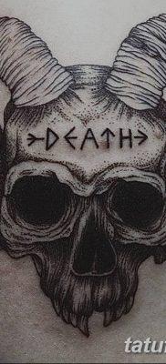 Фото тату Сатана от 31.07.2018 №121 – tattoo of Satan – tatufoto.com