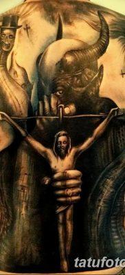 Фото тату Сатана от 31.07.2018 №122 – tattoo of Satan – tatufoto.com