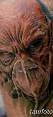 Фото тату Сатана от 31.07.2018 №123 – tattoo of Satan – tatufoto.com