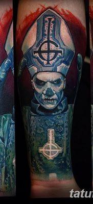 Фото тату Сатана от 31.07.2018 №127 – tattoo of Satan – tatufoto.com