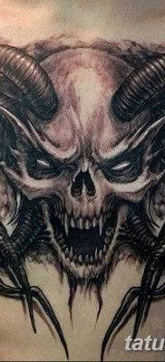 Фото тату Сатана от 31.07.2018 №129 – tattoo of Satan – tatufoto.com