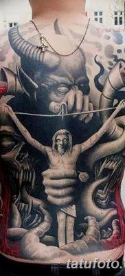 Фото тату Сатана от 31.07.2018 №131 – tattoo of Satan – tatufoto.com