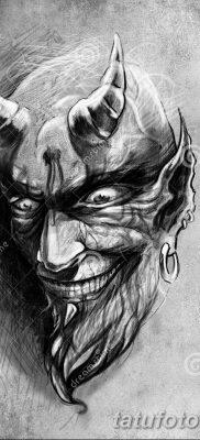 Фото тату Сатана от 31.07.2018 №134 – tattoo of Satan – tatufoto.com