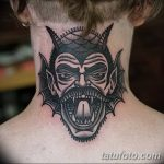 Фото тату Сатана от 31.07.2018 №135 - tattoo of Satan - tatufoto.com